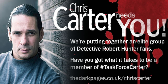 Chris Carter Books Home Page